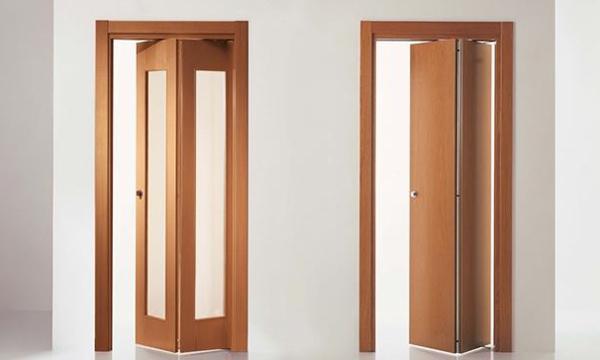 Porte a libro sesto calende vendita serramenti porte for Porta a libro bianca con vetro