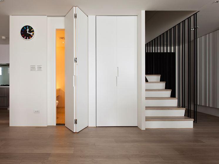 porte salvaspazio entrata bagno non solo serramenti